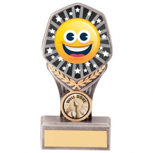 Falcon Emoji Happy Face Award 150mm